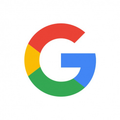 Logo for Google, a Full Fat Things client